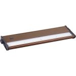 CounterMax Collection 4-Light Metallic Bronze Under Cabinet Light with Clear Glass 89923MB