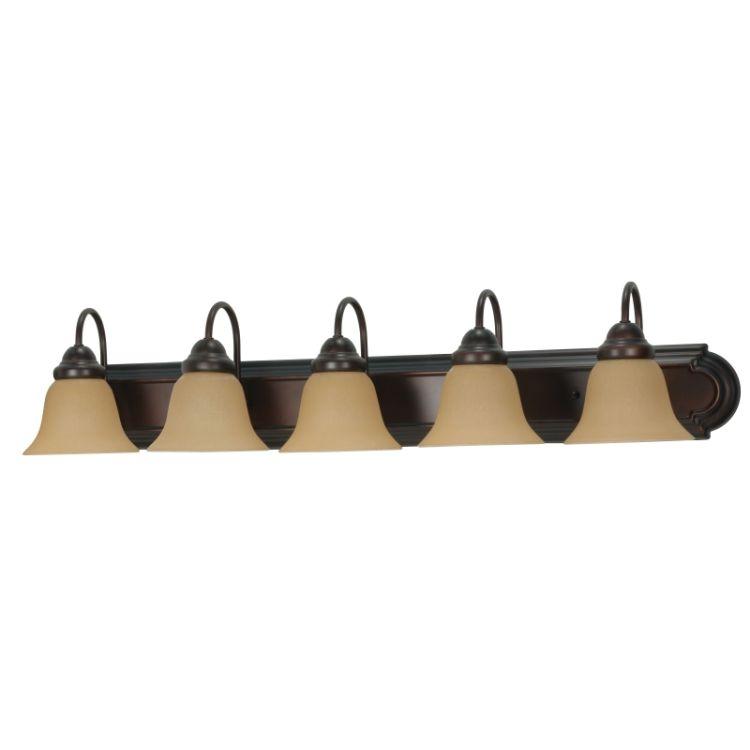 home wall lights bathroom lighting 5 or more bathroom light fixtures. Black Bedroom Furniture Sets. Home Design Ideas