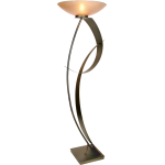 You Will Remember Collection 1-Light 70In. Caramel Floor Lamp