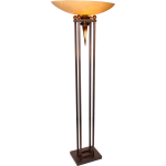 You Will Remember Collection 1-Light 70In. Copper / Black Floor Lamp