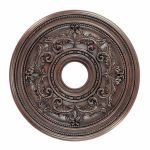 "Livex Lighting 18"" Imperial Bronze Ceiling Medallion 8205-58"