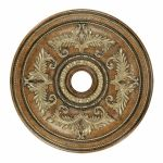 "Livex Lighting 40"" Venetian Patina Ceiling Medallion 8211-57"