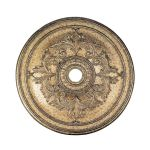 "Livex Lighting 40"" Vintage Gold Leaf Ceiling Medallion 8211-65"