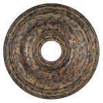 "Livex Lighting 20"" Venetian Golden Bronze Ceiling Medallion 8219-71"