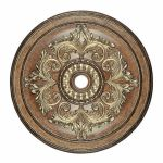 "Livex Lighting 48"" Venetian Patina Ceiling Medallion 8228-57"