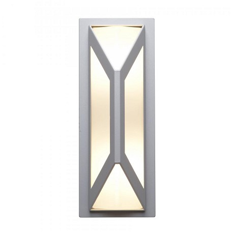 Nyami Collection 2-Light Satin Outdoor Wall Fixture with Frosted Glass 20370MG-SAT/FST