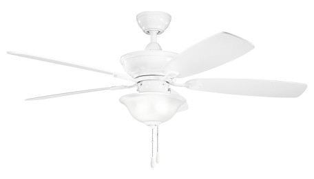 Kichler Three Light White Ceiling Fan - 300177WH