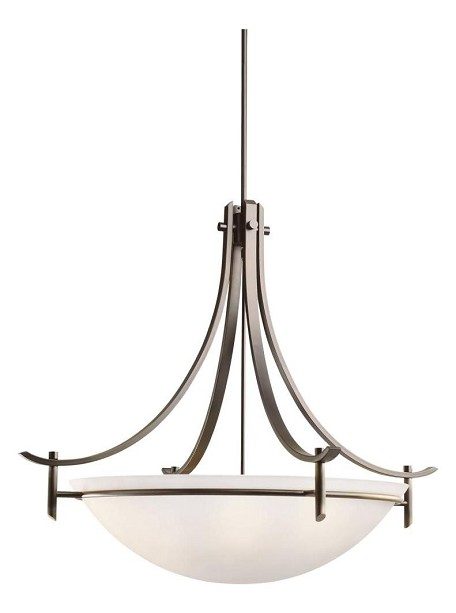Kichler Five Light Olde Bronze Up Pendant - 3279OZ