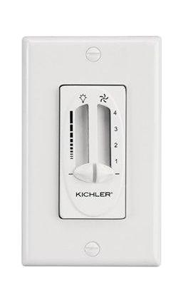 Kichler Almond Fan Wall Mount Control - 337010ALM