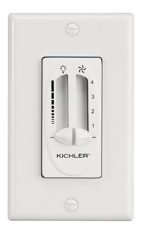 Kichler Ivory (not Painted) Fan Wall Mount Control - 337010IV