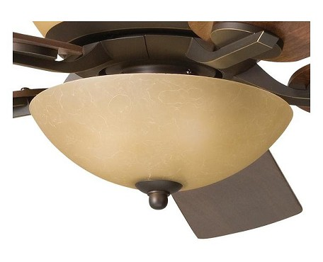 Kichler Three Light Olde Bronze Fan Light Kit - 380000OZW