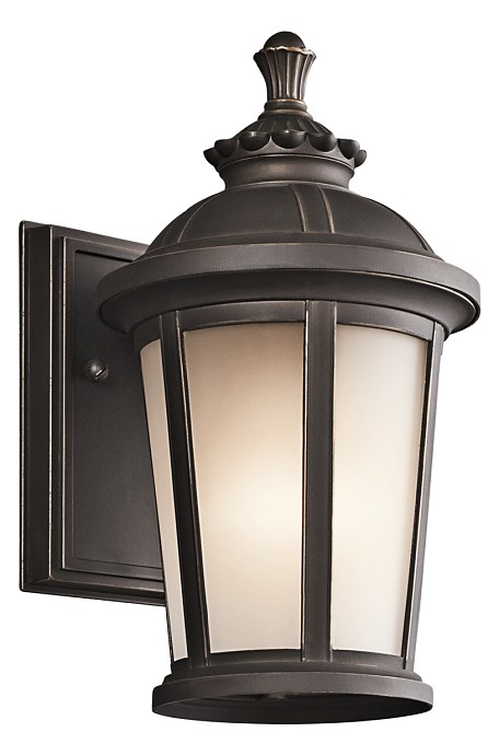 Rubbed Bronze Ralston Collection 1 Light 11in. Outdoor Wall Light