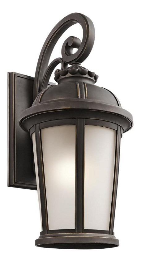 Rubbed Bronze Ralston Collection 1 Light 25in. Outdoor Wall Light