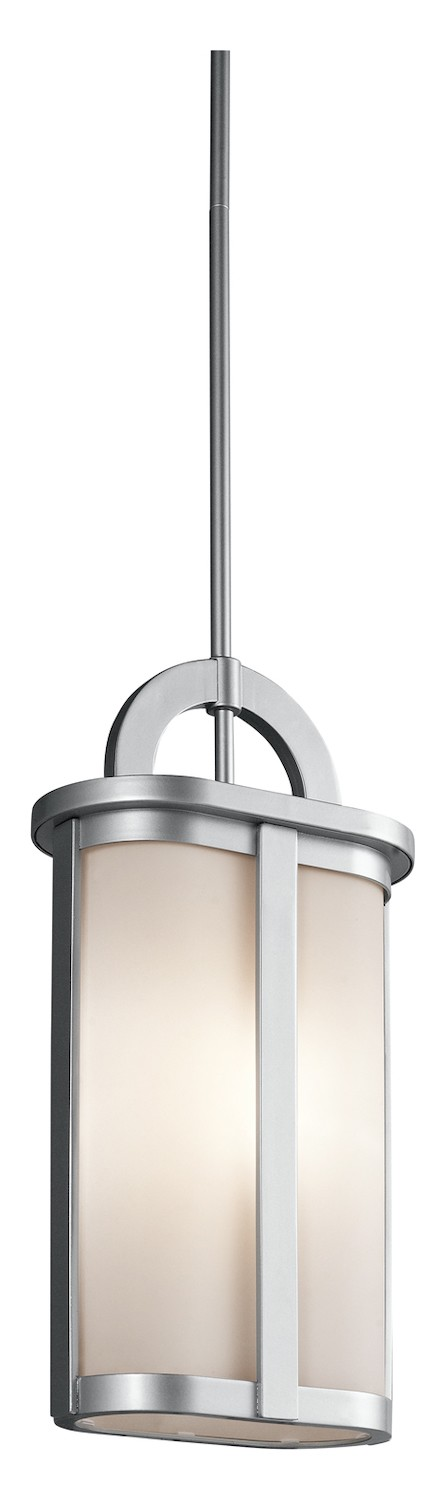 Kichler One Light Platinum Hanging Lantern - 49472PL
