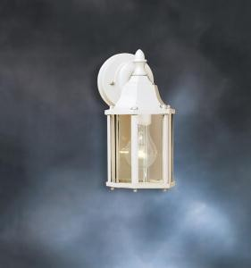 Kichler One Light White Wall Lantern - 9774WH
