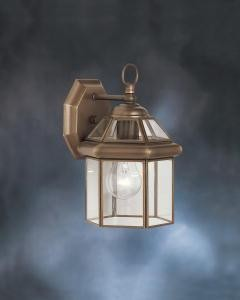 Olde Bronze Embassy Row Collection 1 Light 11in. Outdoor Wall Light