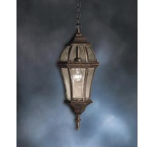 Kichler One Light Tannery Bronze Hanging Lantern - 9892TZ