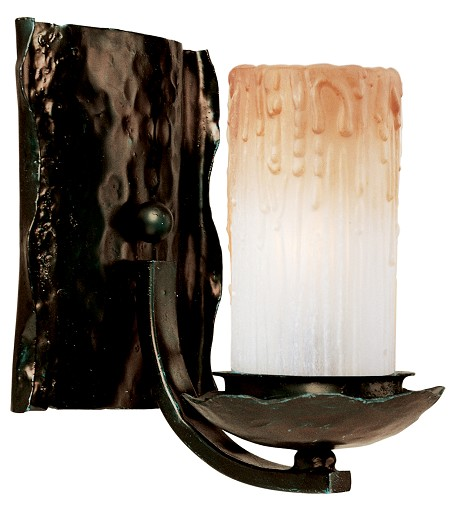 "Notre Dame Collection 1-Light 8"" Oil Rubbed Bronze Wall Sconce 10970WSOI"