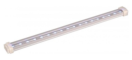 "StarStrand Collection 6"" 10-Light Brushed Aluminum 24V LED Channel 53710AL"