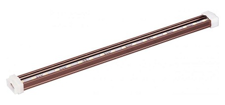 "StarStrand Collection 12"" 18-Light Anodized Bronze 24V LED Channel 53711BRZ"