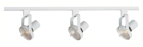 "Track Collection 3-Light 48"" White Track Light 92320WT"