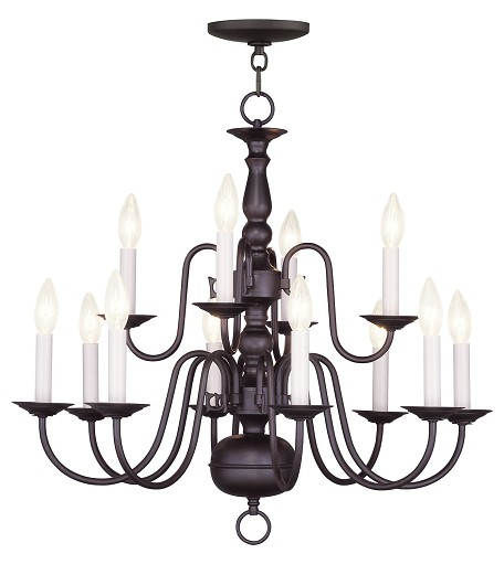 Bronze Up Chandelier