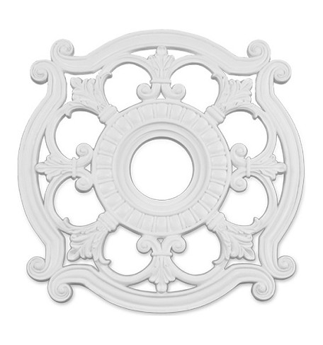 "Livex Lighting 23"" White Ceiling Medallion 8216-03"
