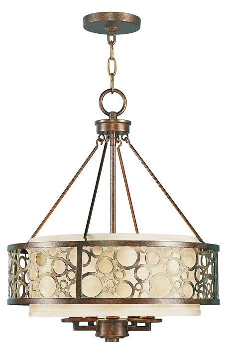 Palacial Bronze Avalon 5 Light 1 Tier Chandelier