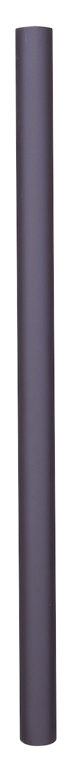 Black Cast Aluminum 84In. Height Direct Burial Post From The Outdoor Collection