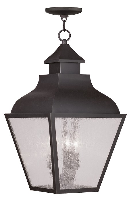 Bronze Vernon Outdoor Pendant with 3 Lights
