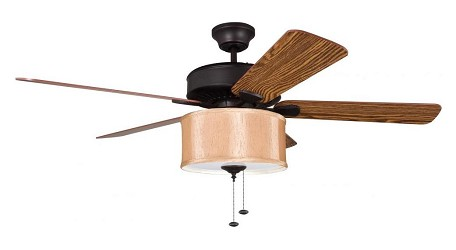 Ellington Fan Silk Shade Light Kit - LKE227RH