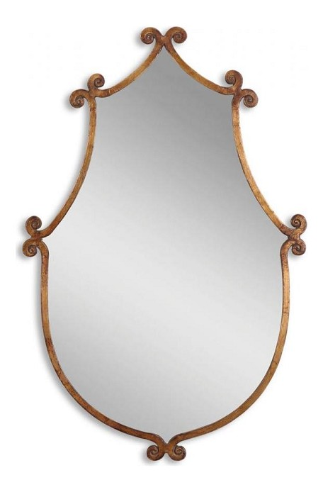 Ablenay Collection Antique Gold Mirror 13648
