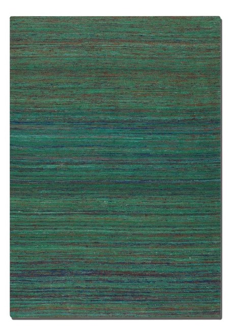 Nivi Collection 8' x 10' Blue/Green/Orange/Red Viscose Rug 71003-8