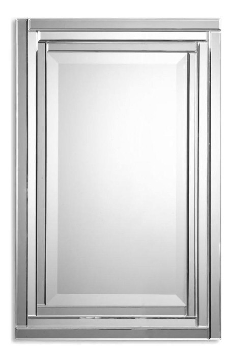 "Alanna 34"" Polished Edge Vanity Mirror 08027 B"