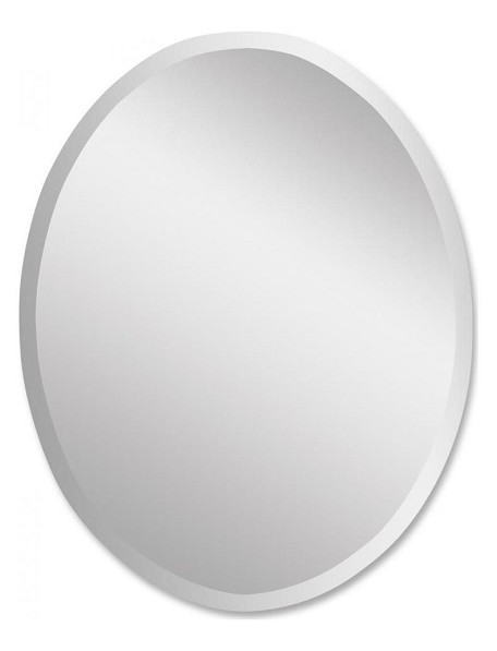 Frameless Collection Vanity Oval Mirror 19580B