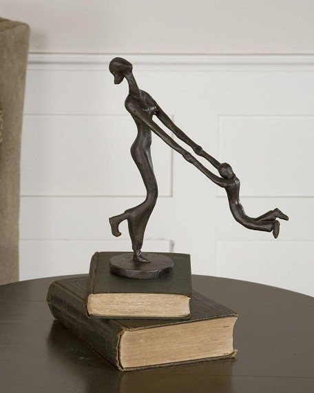 At Play Collection Mother & Child Sculpture 19445