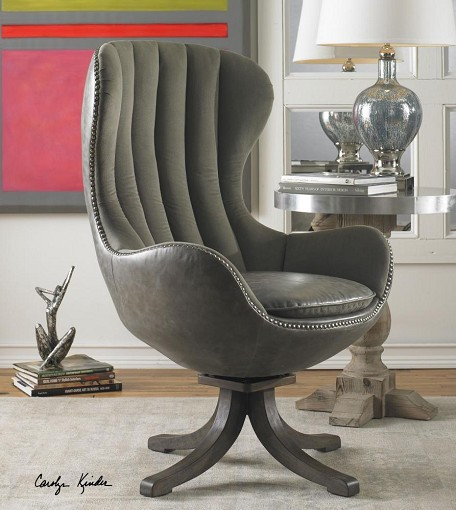 Uttermost Linford Swivel Chair - 23121