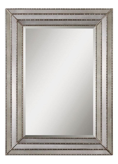 Burnished Silver Seymour Mirror