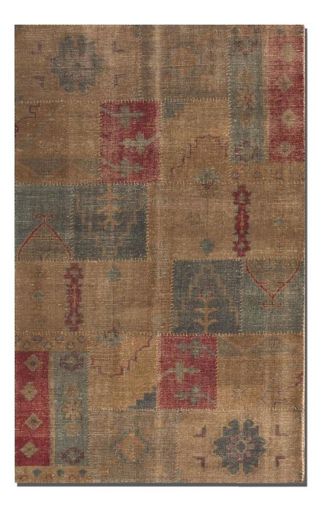 Anadolu Collection 6' x 9' Brown Wool Rug 70003-6