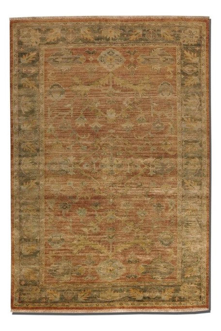 Eleonora Collection 10' x 14' Red Wool Rug 70009-10