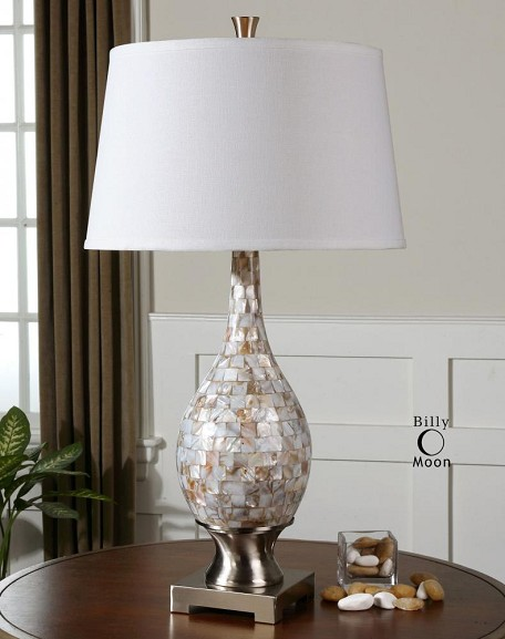 Mother Of Pearl Madre 1 Light Table Lamp