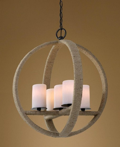 Uttermost Gironico Round 5 Light Pendant - 21997