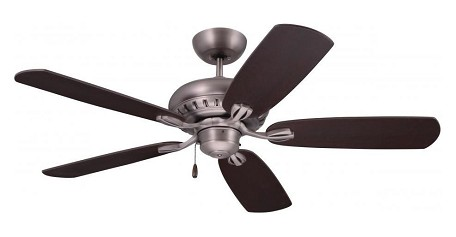 Antique Pewter Avondale 52in. 5 Blade Ceiling Fan - Blades Included