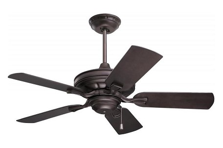 Oil Rubbed Bronze Veranda 42in. 5 Blade Outdoor Ceiling Fan - Blades Included