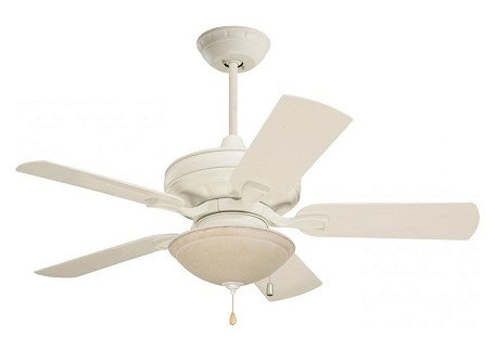 Emerson Fans Three Light Summer White Amber Mist Glass Fan Light Kit - LK92AW