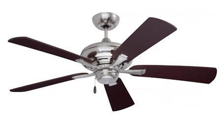 Emerson Fans Brushed Steel Ceiling Fan - CF772BS