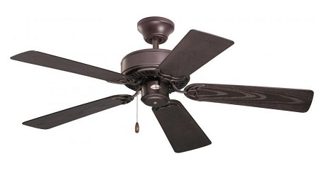 "Summer Night Collection 42"" Oil Rubbed Bronze Ceiling Fan with All Weather Appliance White Blades CF742PFORB"