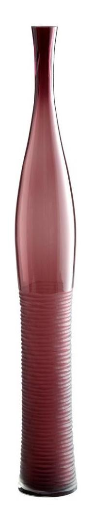 Amethyst 23.5in. Large Amethyst Bottle Vase