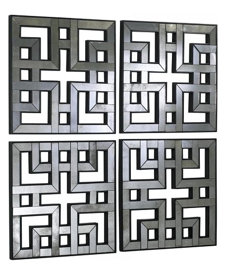 35in. Akari Mirrored Panels