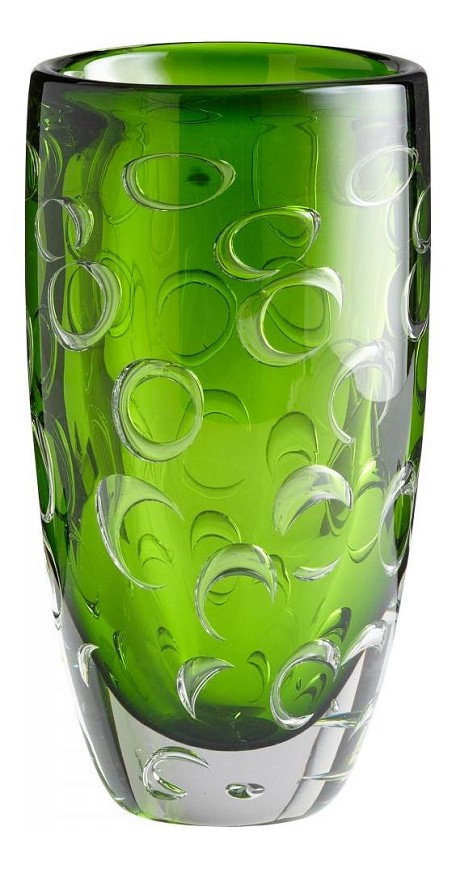Emerald Green 11.75in. Home Accent Vase